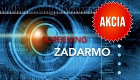 Mimoriadna akcia na január: SCREENING ZADARMO